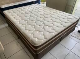 cama box queen size Anjos -entrego
