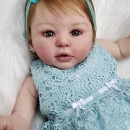 Valentina Júlia Boneca Bebê Reborn Original 4 meses de uso