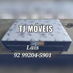 cama box casal Acsa molas bonnel entrega grátis