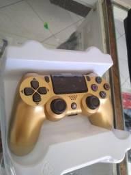 Controle Ps4 Dourado