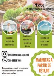 Marmitas fit a partir de R$13,00