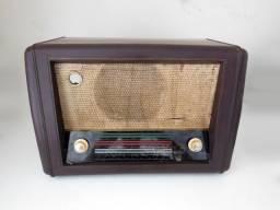 Rádio Valvulado Anos 40-50 Baquelite - P/ Decoração