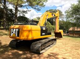 Escavadeira Caterpillar 320D2L Esteira Larga