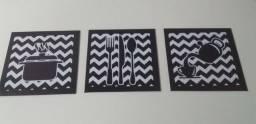 Placas decorativas em mdf 20x20