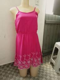 Vestido rosa tam. P