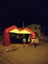 Vendo barraca inflável