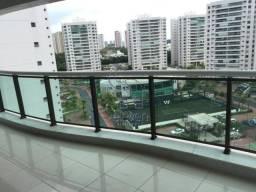 Apartamento para locação não mobiliada no Le Parc Salvador, com 3 suítes, closet, armários