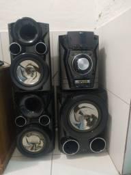Som LG X- Natal Bass 3 caixas