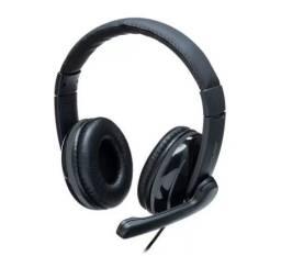 Fone De Ouvido Headset Pro Multilaser PH316 P2 Preto