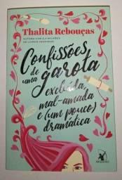 Livro Confissões de uma garota excluída mal-amada e (um pouco) dramática
