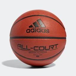Bola Adidas Basquete All court Oficial N7 Couro Adulto