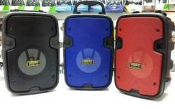 Caixa De Som Usb Mp3 KMS-2002 Com Bluetooth
