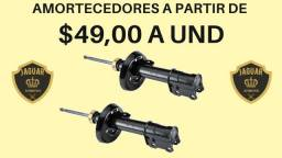 Amortecedores para seu veículo a partir de R$49,00 a unidade