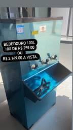 Bebedouro 100L pronta entrega última peça