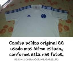 Camisa adidas original do Cruzeiro tamanho GG