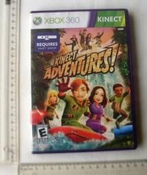 Jogo Original X-Box 360 - Kinect Adventures - Mídia Física - Usado - Funcionando