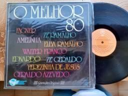 LP disco de vinil o melhor dos 80