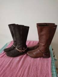 2 pares de botas Dakota Tam 37