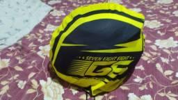 Vendo capacete usado uma vez novo