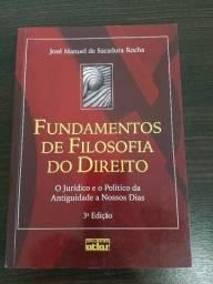 Fundamentos de Filosofia do Direito - José Manuel de Sacadura Rocha (3ª edição)