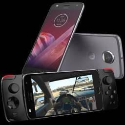 Vendo Motorola Z2 + projetor + game pad