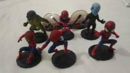 Conjunto de homem aranha para colecionar
