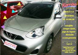 Nissan March 1.0 S, 2014/2015, R$ 29.000,00 - 2014
