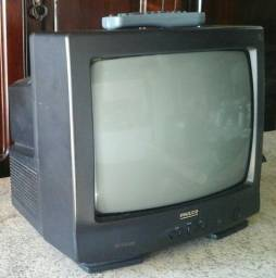 Tv 14 polegadas com controle