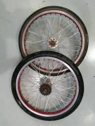 Roda bicicleta bmx cross lite