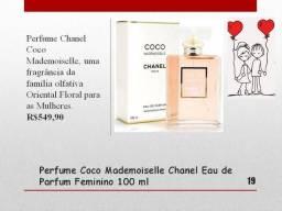 Perfume Chanel Coco Mademoiselle Novo lacrado 100% original