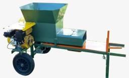 Maquina ensacadora de silagem (modelo a gasolina) Di campo