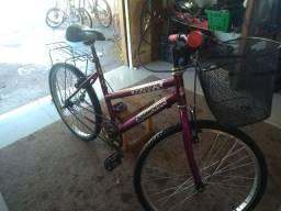 Bicicleta aro 24 com cesta