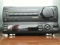 Amplificador Sony + par de caixas, japonês