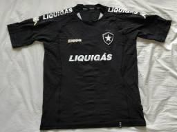 Camisa de futebol Botafogo preta G