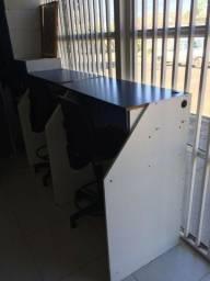 3 Cadeiras executiva giratória Alta p/ uso de caixa 470.00(cada)
