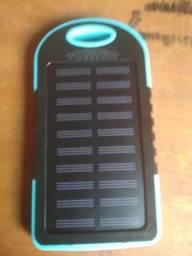 Bateria com Carregador Solar