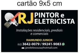 Eletricista e pintor
