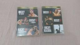 Coleção de dvd Rocky Balboa