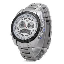 Relógio Masculino TVG Seals Elite Luxo Prova D'Água