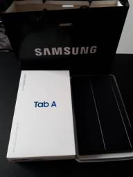 """Tablet Samsung Tab A 8.0"""" 4G com capa original"""