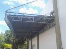 Estrutura Metálica Galpões, Mezanino, Telhados Residencial e Comercial, Portões