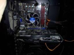 Processador i5, 16GB memória