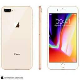 Iphone 8 Plus Primeira Linha R$: 700,00 Dourado com Biometria