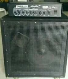 Audio e amplificador de som