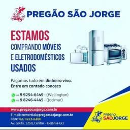 Adquiro móveis e eletrodomésticos usados