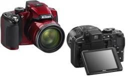Nikon Coolpix l830 vermelha + bolsa