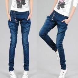 d2310310b Calça Jeans Azul Feminina Saruel Importada - Tamanho M- Conservadissima