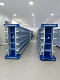 Gôndolas, Check out, Porta Paletes, Estantes. Tudo para sua loja !