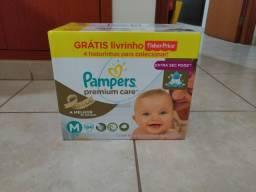 Fralda Pampers Premium Care M