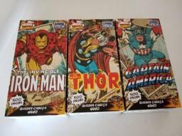 Quebra-Cabeça 500 Peças Thor e Capitão América